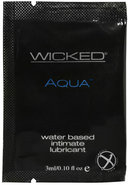 Wicked Aqua Water Based Lubricant...