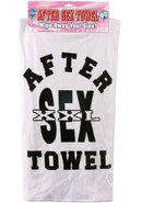 After Sex Towel White